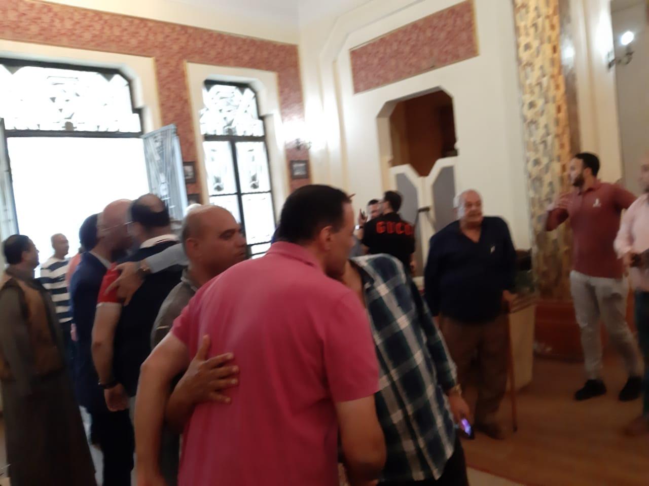 مجلس الجبلاية واعضاء الجمعية العمومية في افطار الشامي بالمحلة (9)