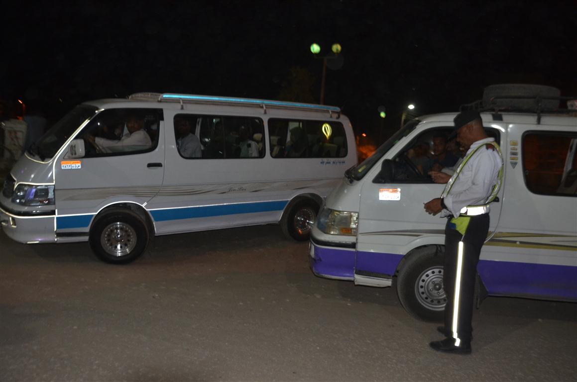 حملة لضبط مخالفات السائقين (6)