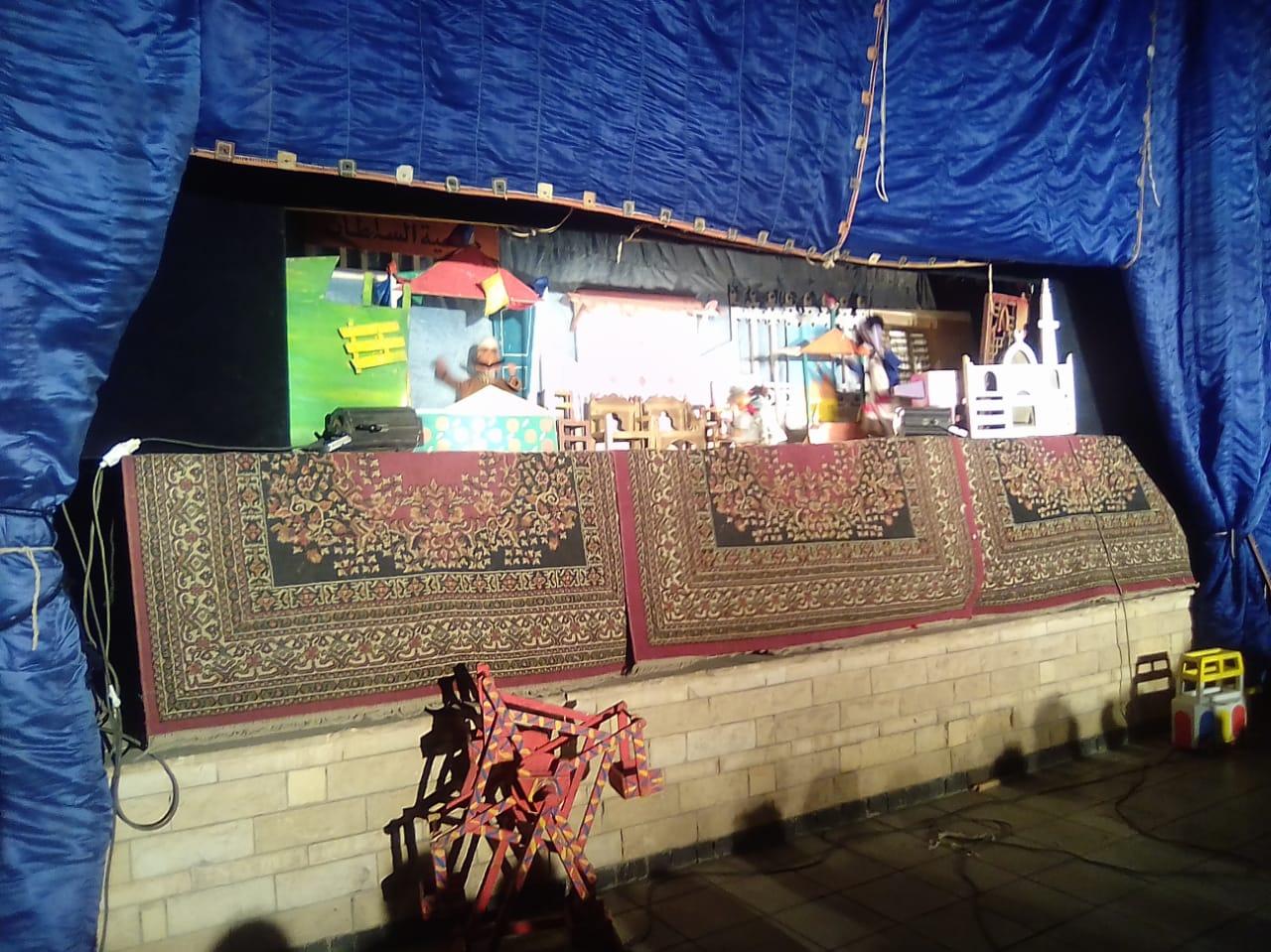 فعاليات ثقافية بمسرح سور القاهرة الشمالى (5)