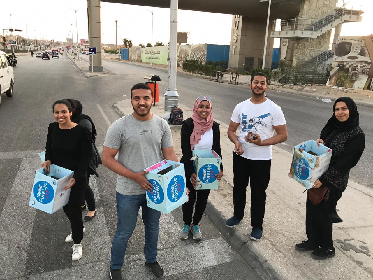 حملة إفطار صائم على الطريق (12)