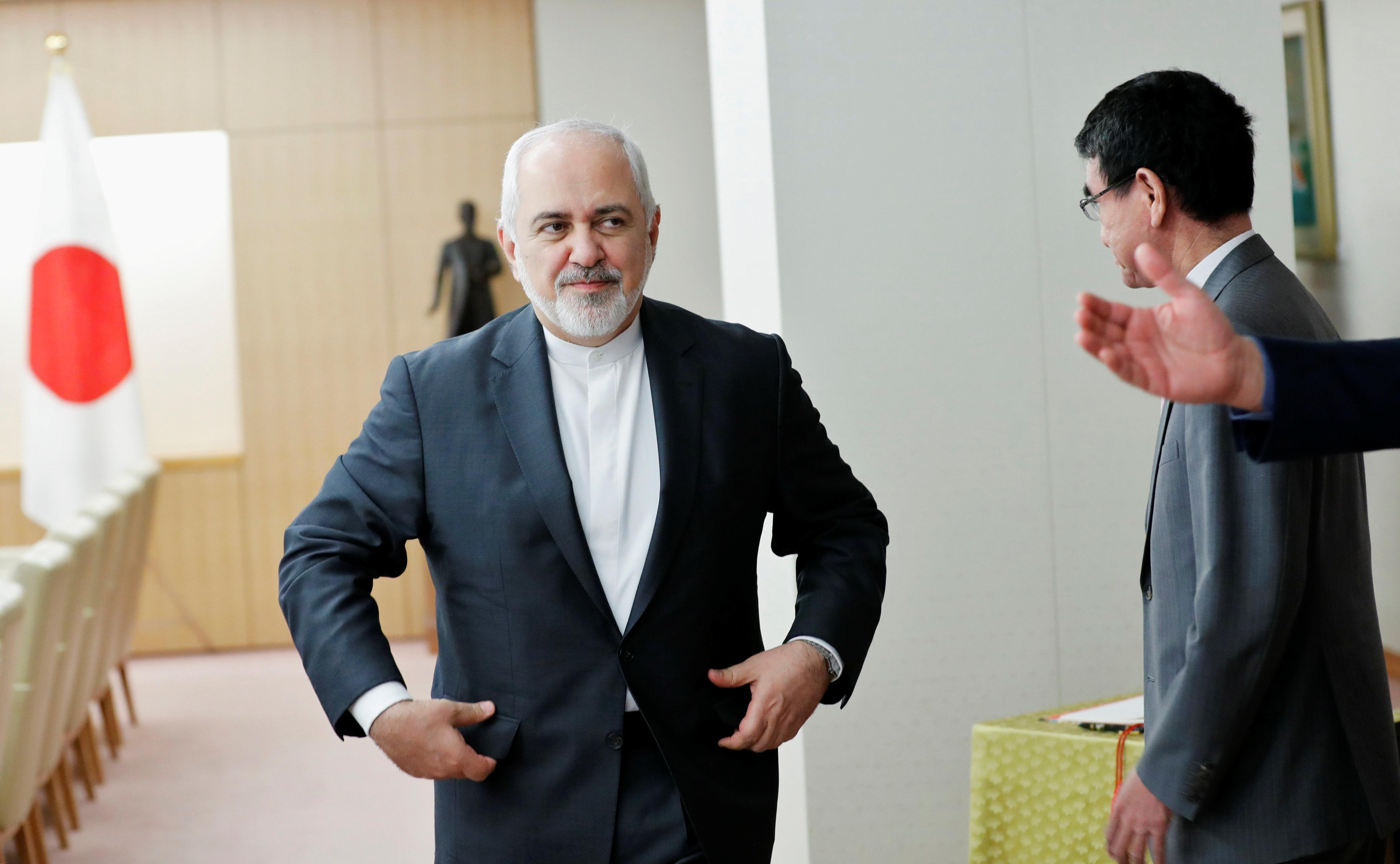 وزير الخارجية الإيرانى جواد ظريف