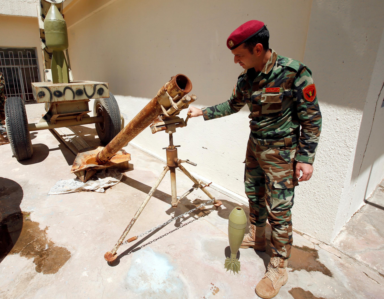 مقتنيات داعش داخل المتحف (7)