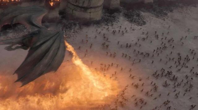 مشهد حرق كينجز لانديج