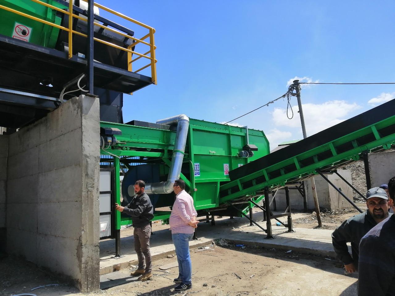 تطوير مصنعى بيلا وسيدى سالم بكفر الشيخ ضمن منظومة النظافة الجديدة (4)