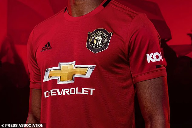 قميص نادي مانشستر يونايتد