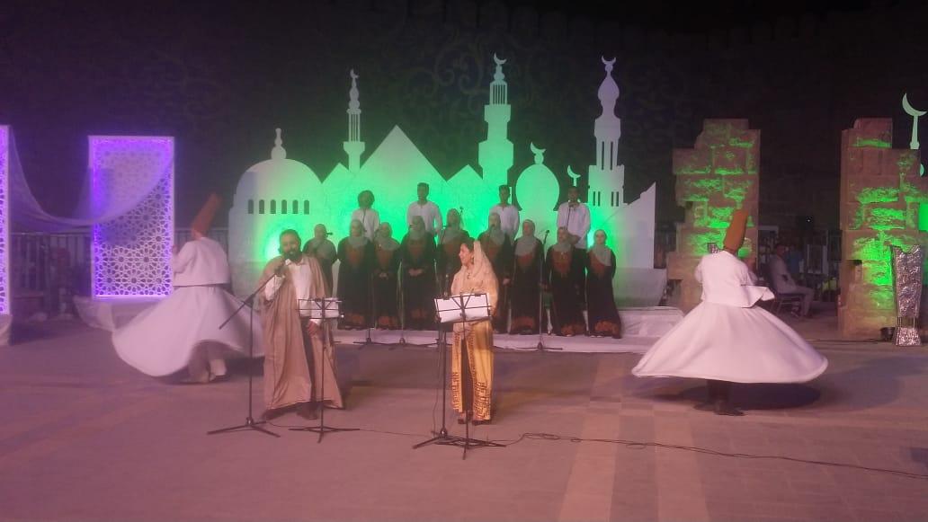 فعاليات ثقافية بمسرح سور القاهرة الشمالى (2)