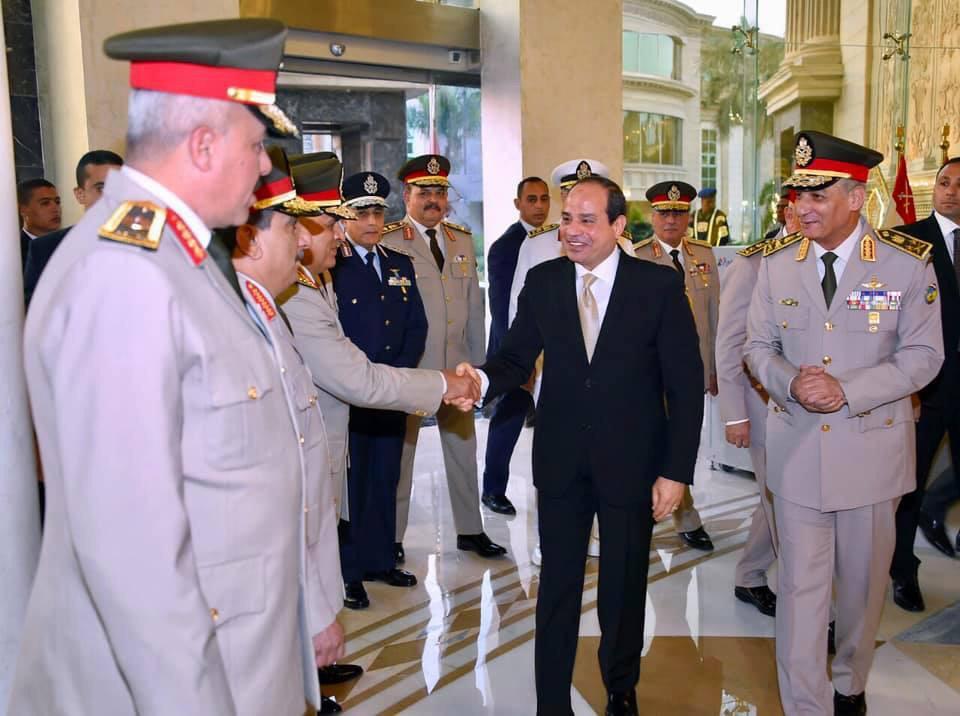 الرئيس السيسى يشارك فى حفل الإفطار السنوى للقوات المسلحة (1)