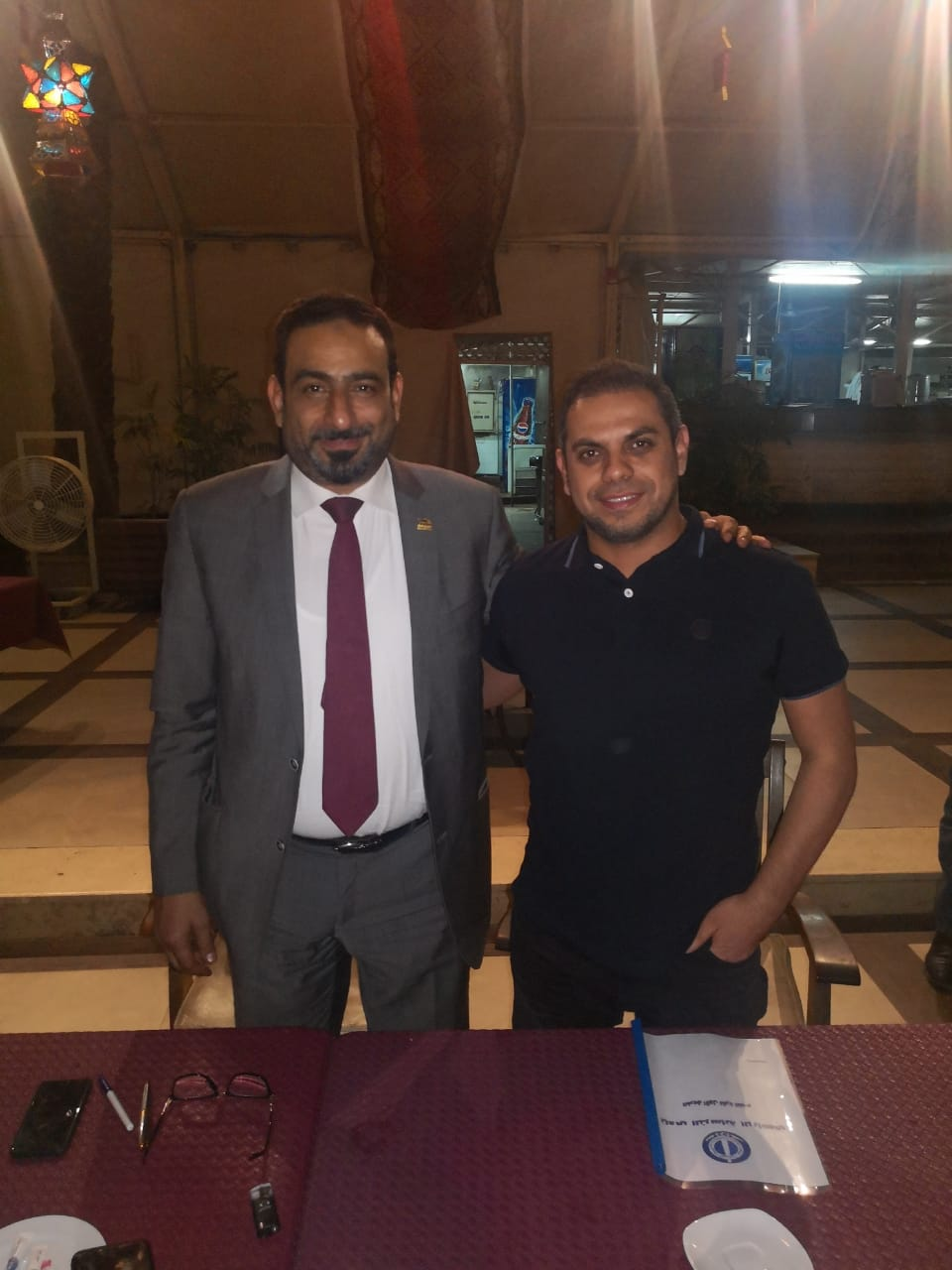 كريم حسن شحاتة مديرا للكرة بنادى الترسانة  (2)