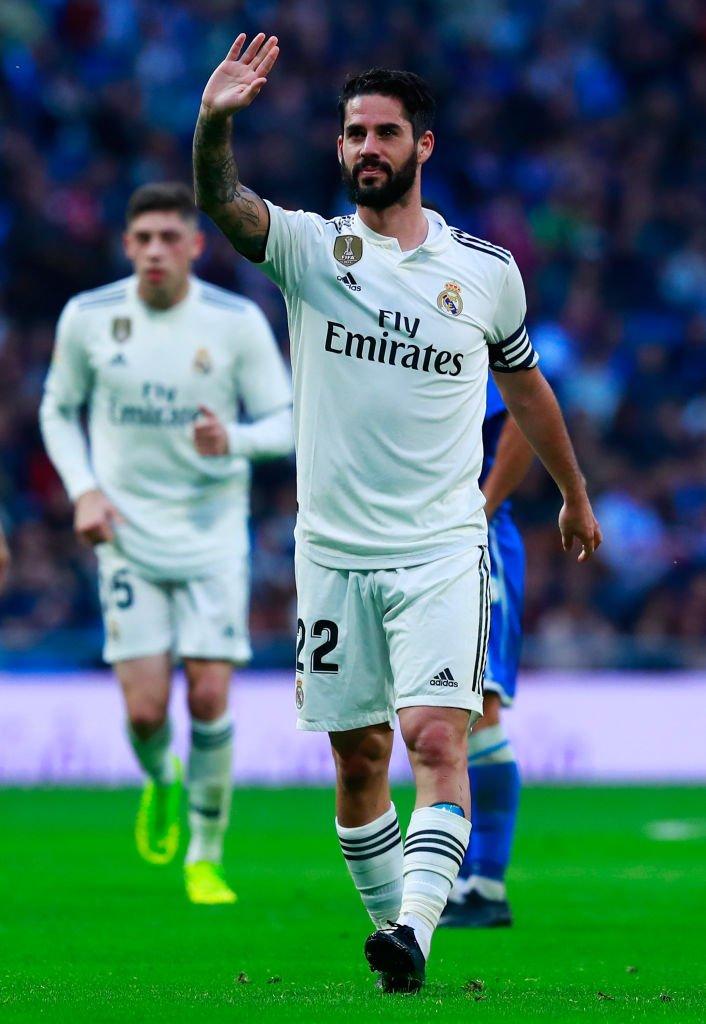 ايسكو نجم ريال مدريد
