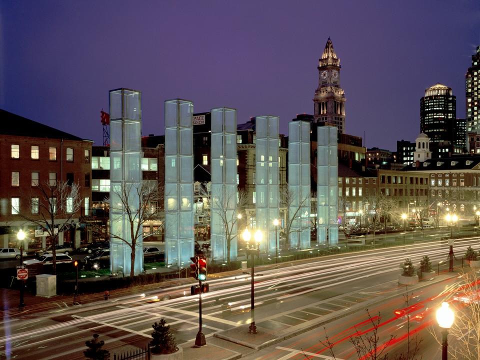 النصب التذكارى للهولوكست فى بوسطن