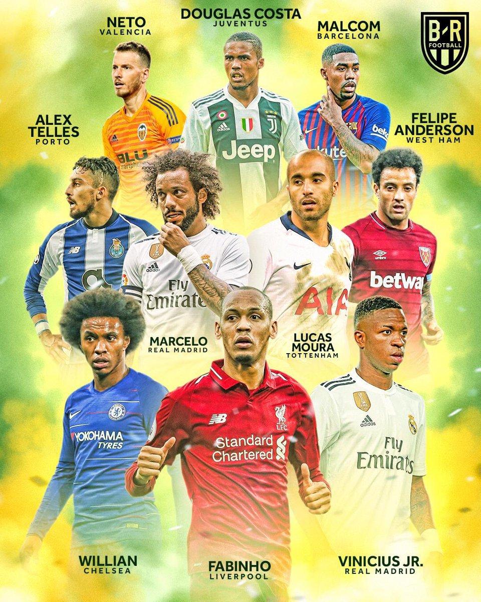 أبرز النجوم المستبعدين من قائمة البرازيل