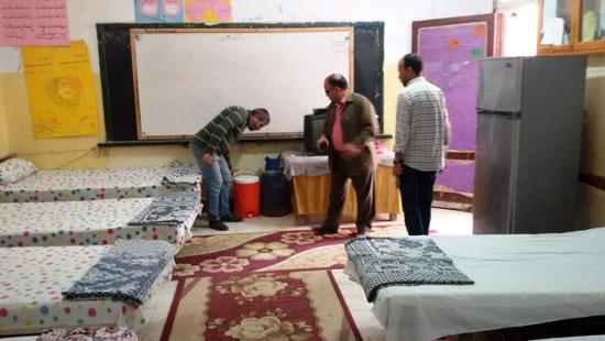 استراحات مراقبى امتحانات الدبلومات الفنية بكفر الشيخ  (9)