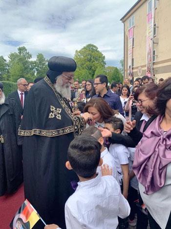 البابا تواضروس يترأس صلوات عشية القديس اثناسيوس الرسولى (35)
