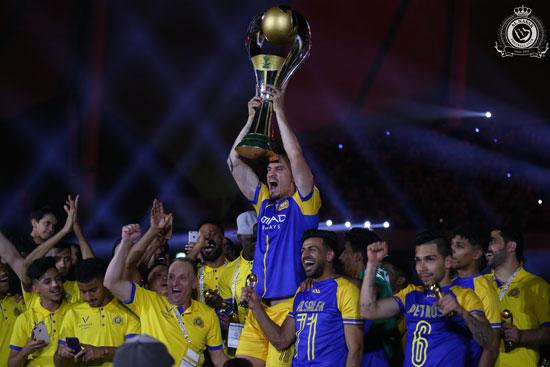النصر بطل الدوري السعودي 2019