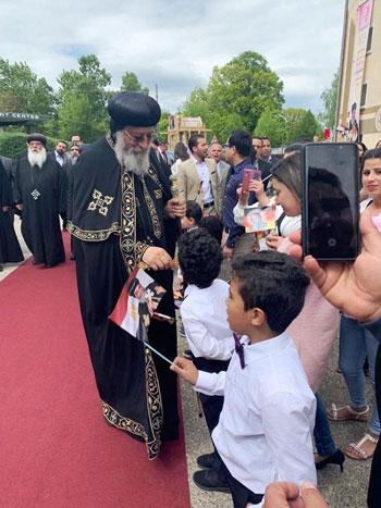 البابا تواضروس يترأس صلوات عشية القديس اثناسيوس الرسولى (31)