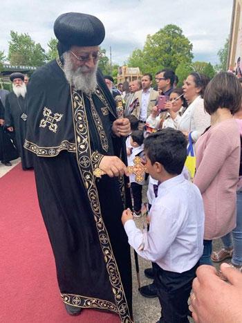 البابا تواضروس يترأس صلوات عشية القديس اثناسيوس الرسولى (33)