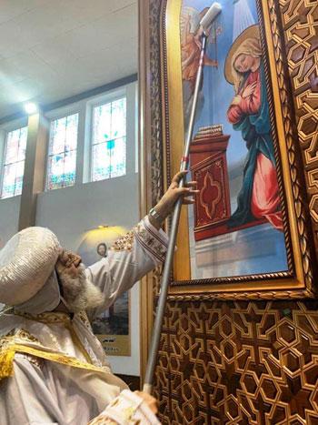 البابا تواضروس يترأس صلوات عشية القديس اثناسيوس الرسولى (1)