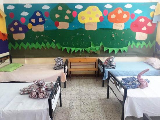 استراحات مراقبى امتحانات الدبلومات الفنية بكفر الشيخ  (1)