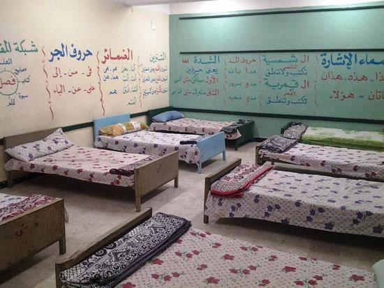 استراحات مراقبى امتحانات الدبلومات الفنية بكفر الشيخ  (2)