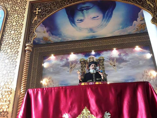 البابا تواضروس يترأس صلوات عشية القديس اثناسيوس الرسولى (7)