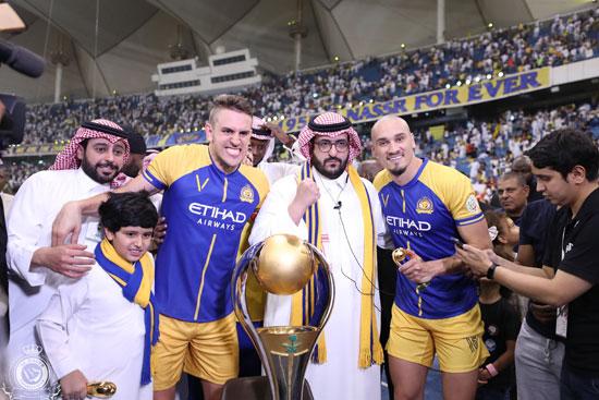 النصر بطل الدوري السعودي