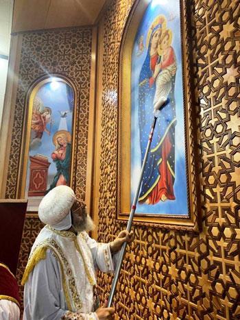 البابا تواضروس يترأس صلوات عشية القديس اثناسيوس الرسولى (5)