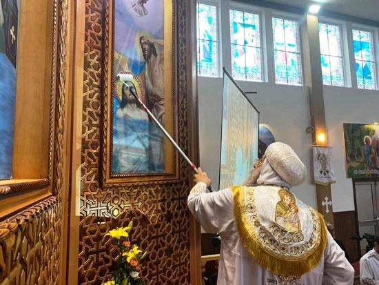 البابا تواضروس يترأس صلوات عشية القديس اثناسيوس الرسولى (3)