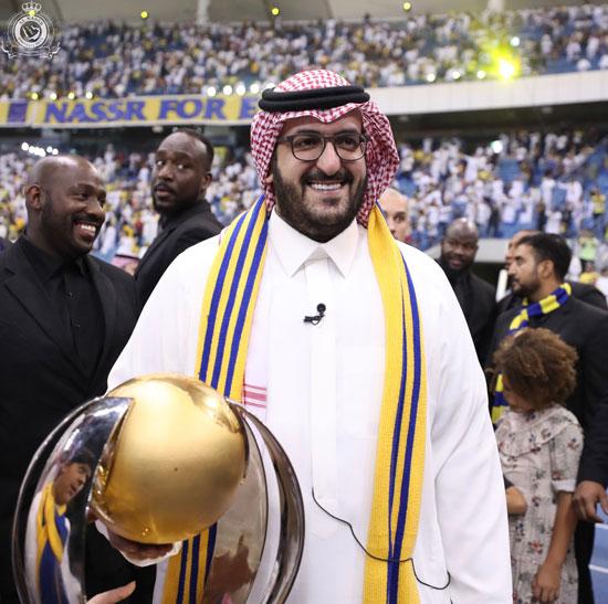 سعود ال سويلم رئيس نادي النصر