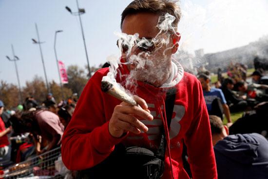 مسيرة الحشاشين فى تشيلى (3)