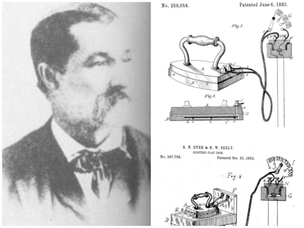 هنرى مخترع المكواة