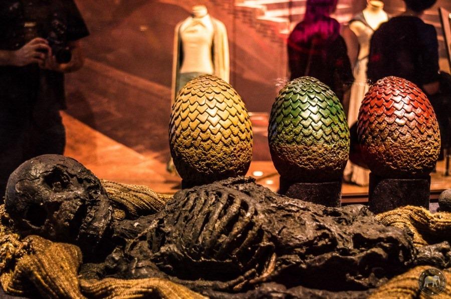 بيض التنين فى الموسم الاول من صراع العروش