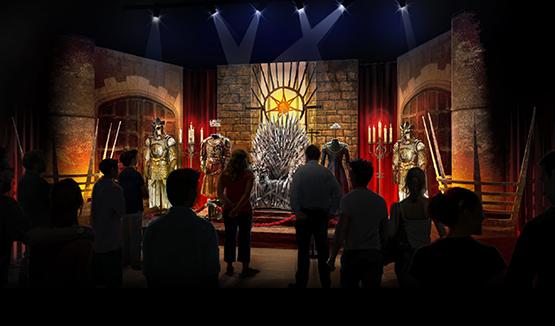 جماهير مسلسل Game of Thrones فى المعرض