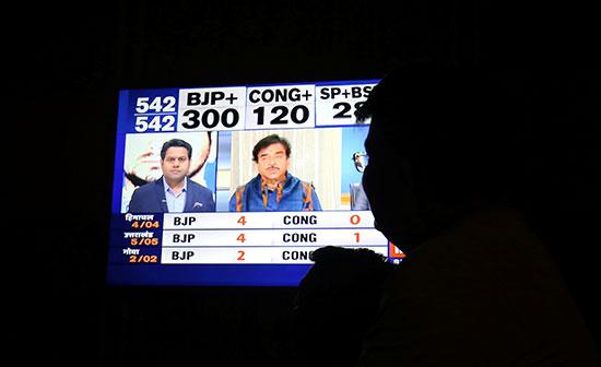 استطلاعات الانتخابات التشريعية فى الهند