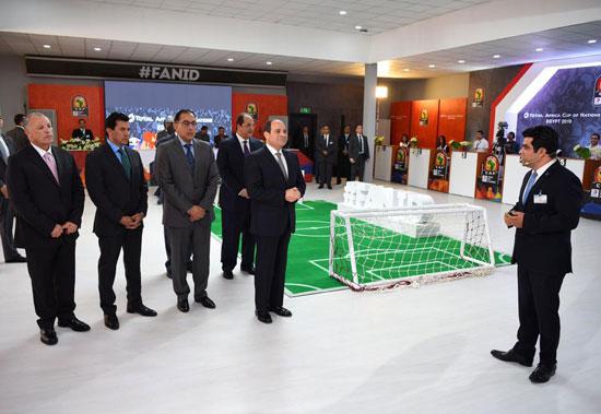 الرئيس-السيسى-يتفقد-استعدادات-أمم-أفريقيا-ويطلق-التميمة-الرسمية-للبطولة--(3)