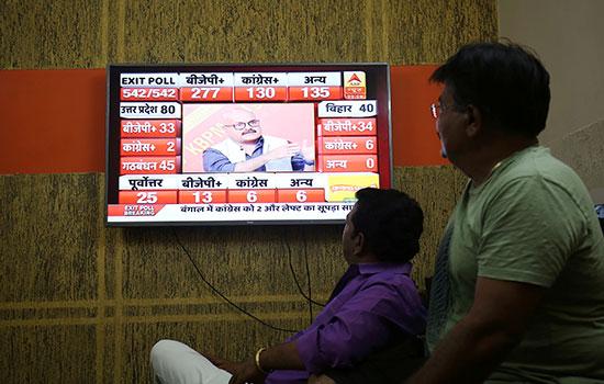 الأرقام الأولية لمؤشرات انتخابات الهند