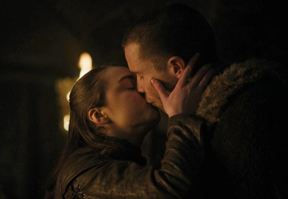 Gendry and Arya
