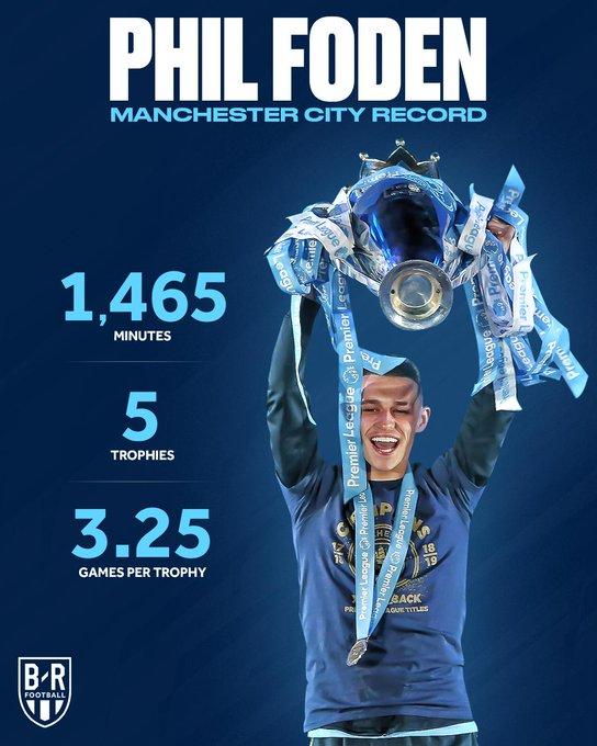 احصائيات فودين لاعب مانشستر سيتي