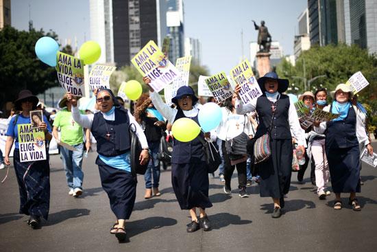 مظاهرات-ضد-الإجهاض-فى-المكسيك-(7)