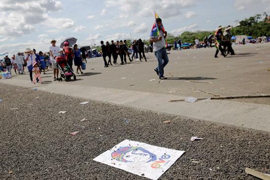 أنصار-الرئيس-البوليفى-إيفو-موراليس-يتظاهرون-دعما-لترشحة-لولاية-رابعة-(6)