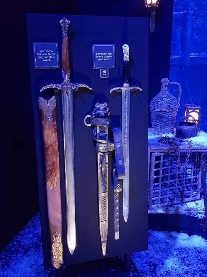 السيوف فى Game of Thrones