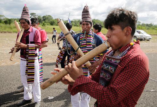 أنصار-الرئيس-البوليفى-إيفو-موراليس-يتظاهرون-دعما-لترشحة-لولاية-رابعة-(8)