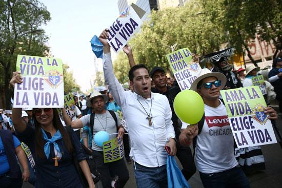 مظاهرات-ضد-الإجهاض-فى-المكسيك-(4)