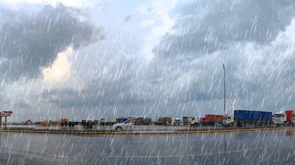 أمطار فى السعودية