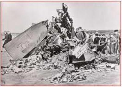 حادثة الطائرة
