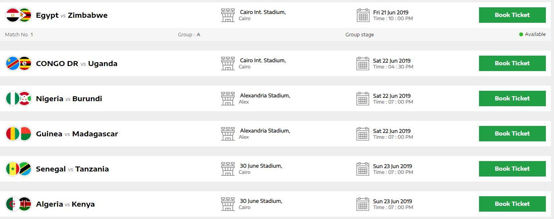 تذاكر البطولة متاحة للحجز
