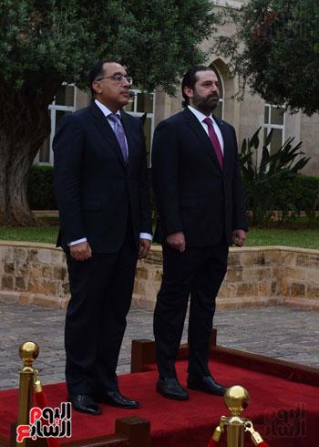 زيارة مصطفى مدبولى للبنان (1)