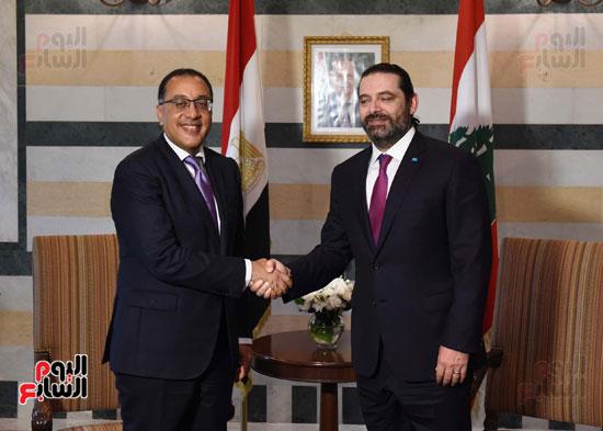 زيارة مصطفى مدبولى للبنان (18)