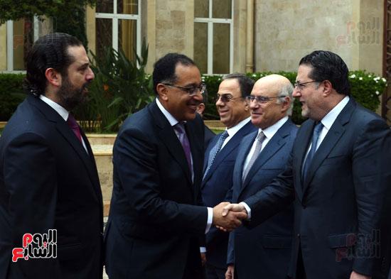 زيارة مصطفى مدبولى للبنان (4)