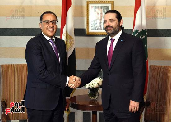 زيارة مصطفى مدبولى للبنان (19)
