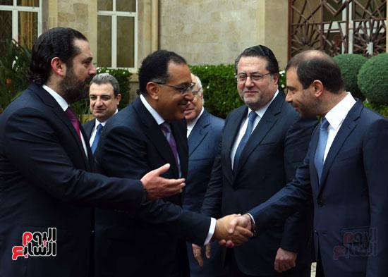 زيارة مصطفى مدبولى للبنان (5)